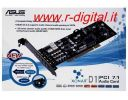 SCHEDA AUDIO ASUS XONAR D1 NEW 7.1 PCI 8 CANALI DOLBY SURROUND
