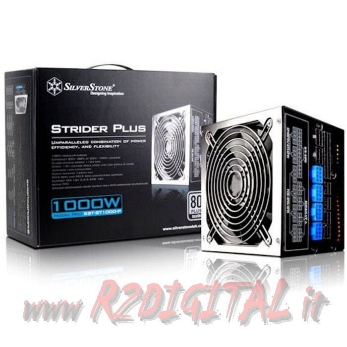 Alimentatore pc silverstone strider plus 1000w sst st1000 for Case modulari strette