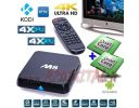 ANDROID TV BOX M8S UHD MEDIA PLAYER OCTA CORE 4K FULL HD WIFI LAN FUNIONE SMART LETTORE MKV DVX USB IPTV KODI SKY XBMC